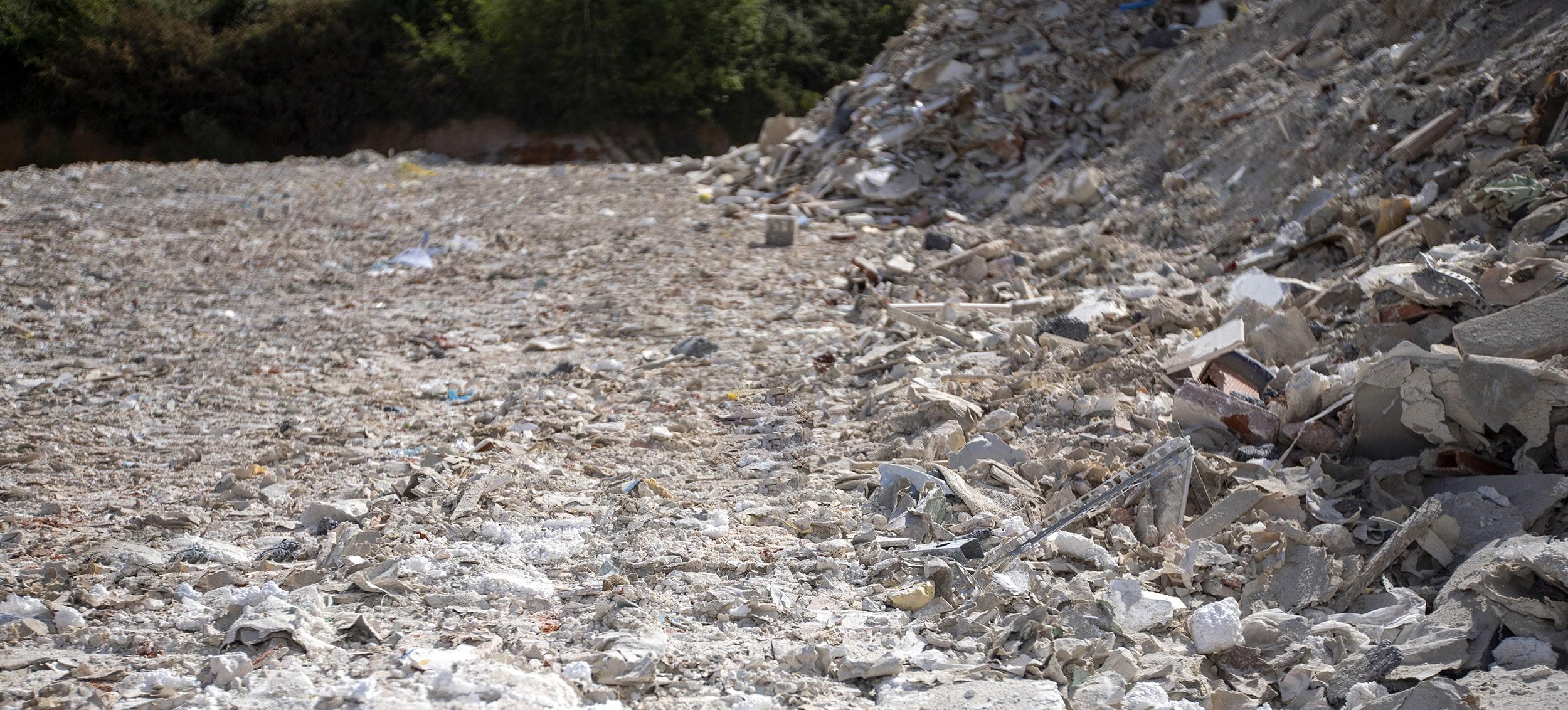 Valor Services - Stockage des déchets de platre